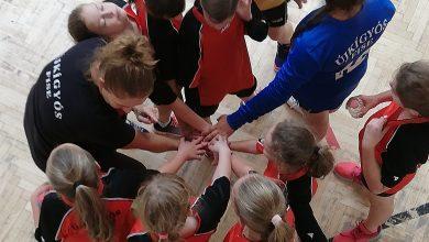 Photo of U11 lány csapatunk Domaszékre utazott a Gyermekbajnokságban.